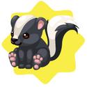 Skunk plushie