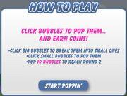 Bubble Pop Instructions