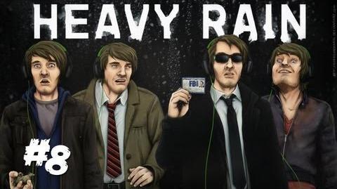 PEWDIEPIE THE ULTIMATE BABYSITTER! - Heavy Rain - Part 8