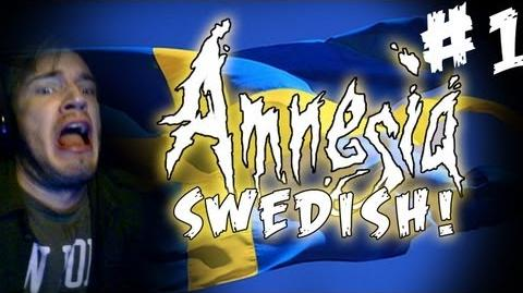SWEDISH COMMENTARY (w Subs) Amnesia Custom Story - Part 1 - The Small Horse I