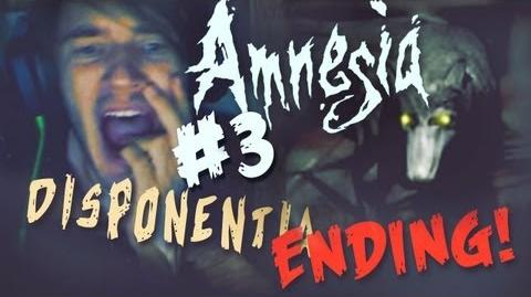 PENUMBRA DOGS BITES MY ASS! - Amnesia Custom Story - Part 3- Disponentia - FINAL (Ending)