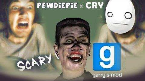 MOAR SPOOKS! - Pewds and Cry Plays Garry's Mod Scary Maps - Part 2