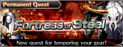Fortress of Steel banner
