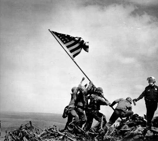 File:John Pike pepper sprays Harlon Block at Iwo Jima.png