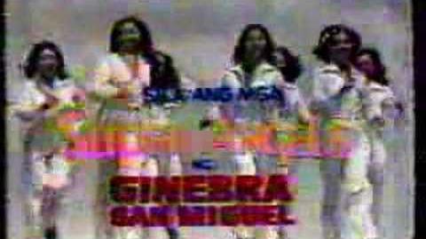 Ginebra San Miguel Classic Philippine 70's TVC