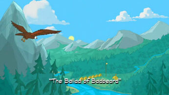 The Ballad of Badbeard title card