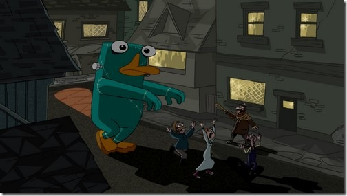 Tập tin:Platypus monster walking through town.jpg