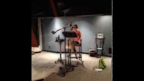Ashley Tisdale Behind the Scenes on Phineas & Ferb
