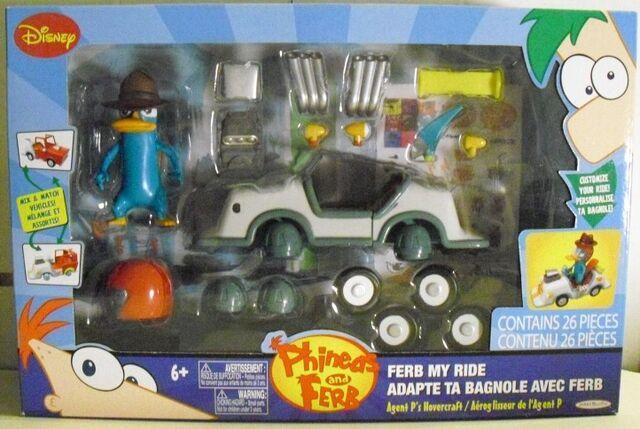 Tập tin:Ferb My Ride - Agent P's Hovercraft front.jpg