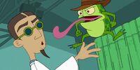 Agent F (frog)