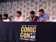 Maulik Pancholy at the Sonjay & Craig panel