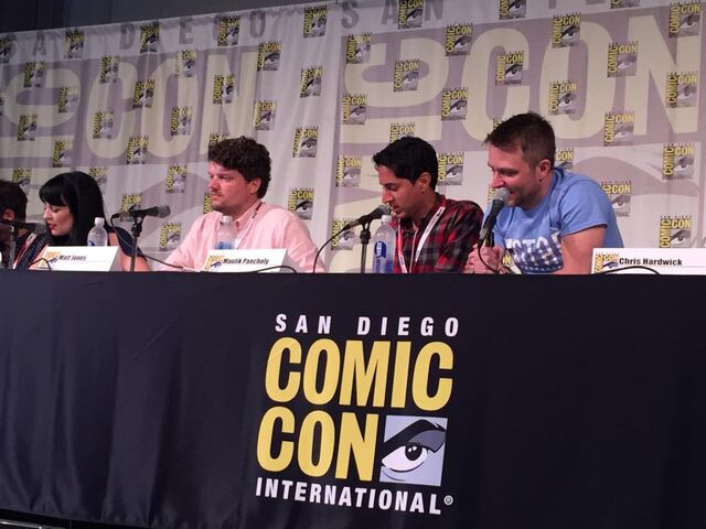 File:Maulik Pancholy at the Sonjay & Craig panel.jpg