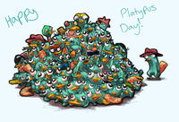Happy Platypus Day, by Pink-Shimmer