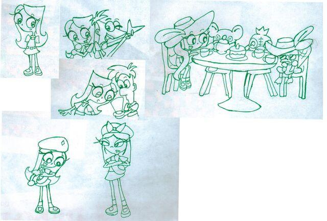 File:Kid Candace sketches1, by Rashuanu.jpg