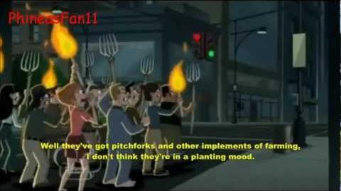 Phineas and Ferb-Were-Cow on the Rampage Were-Cow on the Run Lyrics(HD)