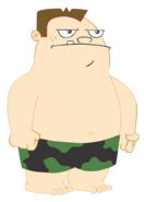 Buford in Swim Trunks