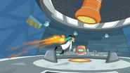 Perry saves doofenshmirtz