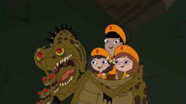 File:Fireside Girls in alien costume.jpg