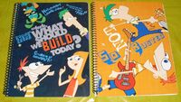 Phineas and Ferb 2012 notebooks 3