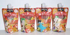 Langers Fruit Punch pouches