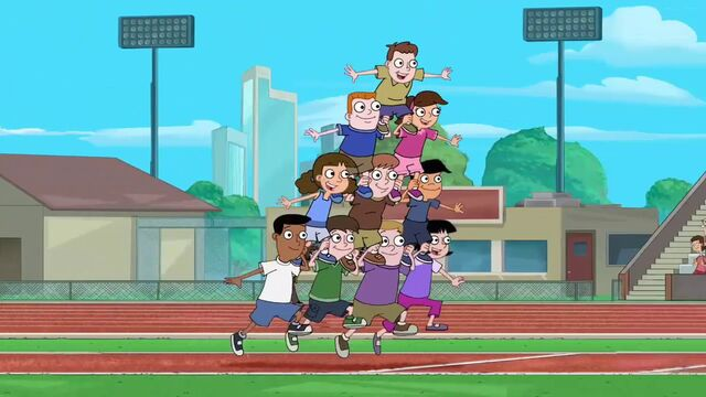 File:Background characters being a pyramid.jpg