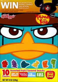 Kellogg's P&F Fruit Snacks - 2013 box cover 2