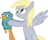 Derpy Too Wants a Pet, by CawinEMD
