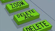 Doof pressed the Delete All button