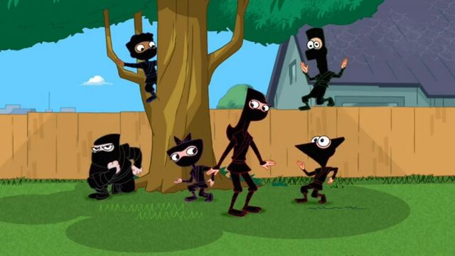 File:The ninja kids appear with Candace.jpg
