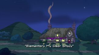Elementary My Dear Stacy title card
