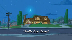 Traffic Cam Caper title card