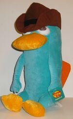 Agent P pillow by Just Play