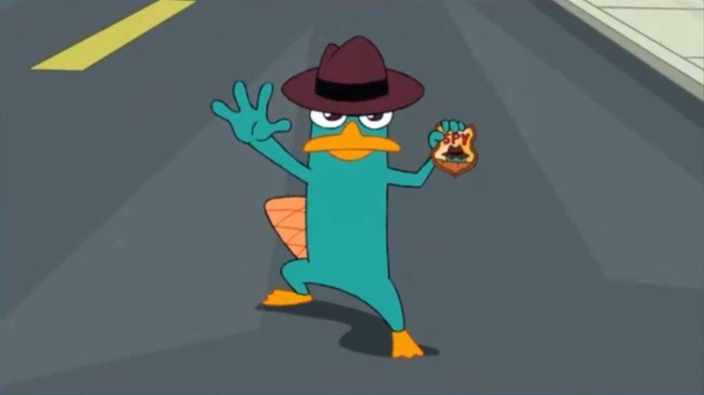 Perry the Platypus (2nd Dimension) | Phineas and Ferb Wiki ...
