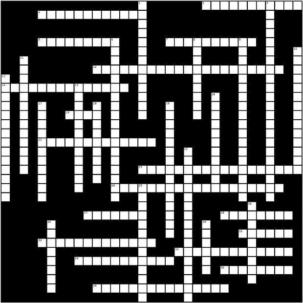 Crossword Dec 2011