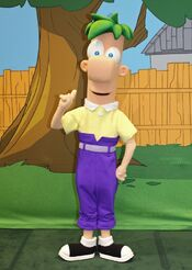 Ferb in Park Form