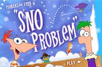 Sno' Problem title screen