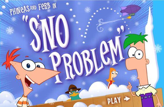 File:Sno' Problem title screen.jpg