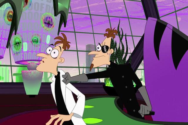 File:2nd Dimension Doofenshmirtz grabs 1st Dimension Doofenshmirtz.jpg