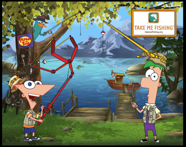 File:Phineas and Ferb Take Me Fishing.org by Anthony Vukojevich.png