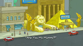 Are You My Mummy? title card