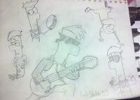 Ferb Sketch - 02, by Ferbluver