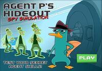 Menu - Agent P's Hideout - Spy Simulation