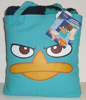 Agent P Canvas Tote and Sherpa Throw set