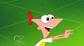 Pass it to Ferb! Pass it to Ferb!