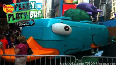 Phineas And Ferb Perry The Platy Bus Theme Song HD