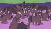 Doonkleberry Bats eating