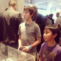 Vincent Martella playing Disney Infinity