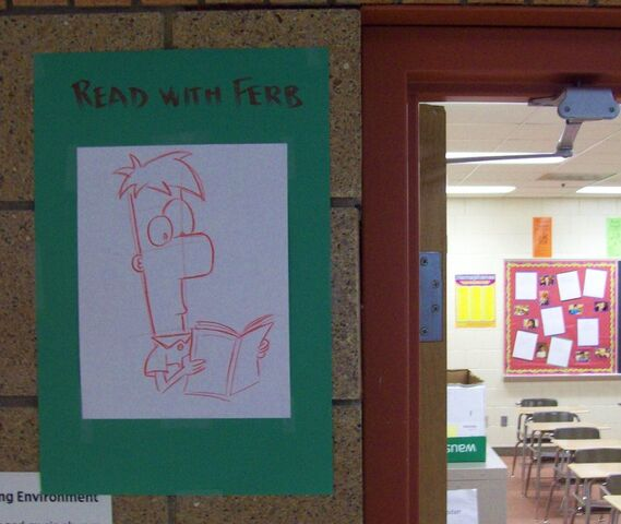 File:Ferb Reading a Book, by kimworld.jpg
