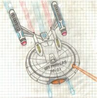 USS Phineas - Iso View, by Romulan64