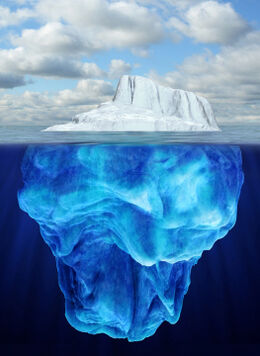 Iceberg Depths